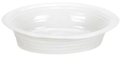 Portmeirion Sophie Conran White Dish oval large