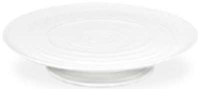 Portmeirion Sophie Conran White Cake Plate with Foot