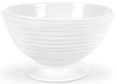 Portmeirion Sophie Conran White Bowl with Foot