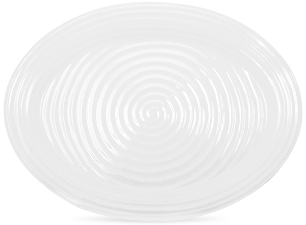 Portmeirion Sophie Conran White Meat Dish or Platter