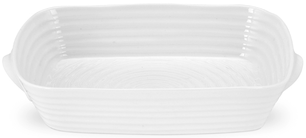 Portmeirion Sophie Conran White Roaster handled ovenproof small