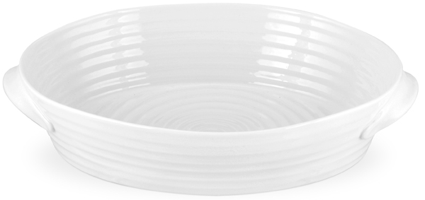 Portmeirion Sophie Conran White Roaster oval ovenproof small
