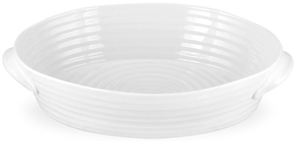 Portmeirion Sophie Conran White Roaster oval large