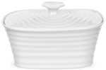 Portmeirion Sophie Conran White Butter Dish