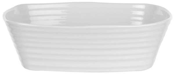 Portmeirion Sophie Conran White Roasting Dish rectangular small