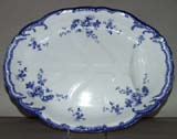 Meat Dish or Platter with tree and well c1903