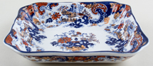 Ridgway Chinese Japan blue with colour Bowl c1900