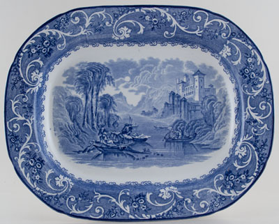 Ridgway Venice Meat Dish or Platter c1930s