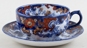 Cup and Saucer small c1900