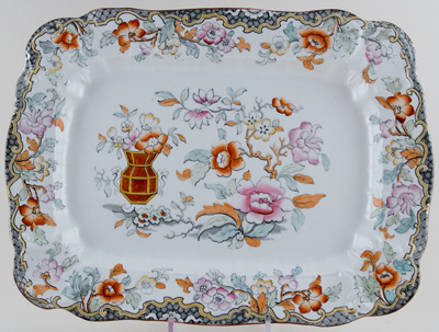Ridgway Simlay colour Meat Dish or Platter c1897