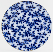 Plate Hot Water c1840