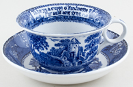 Cup and Saucer Joke c1910