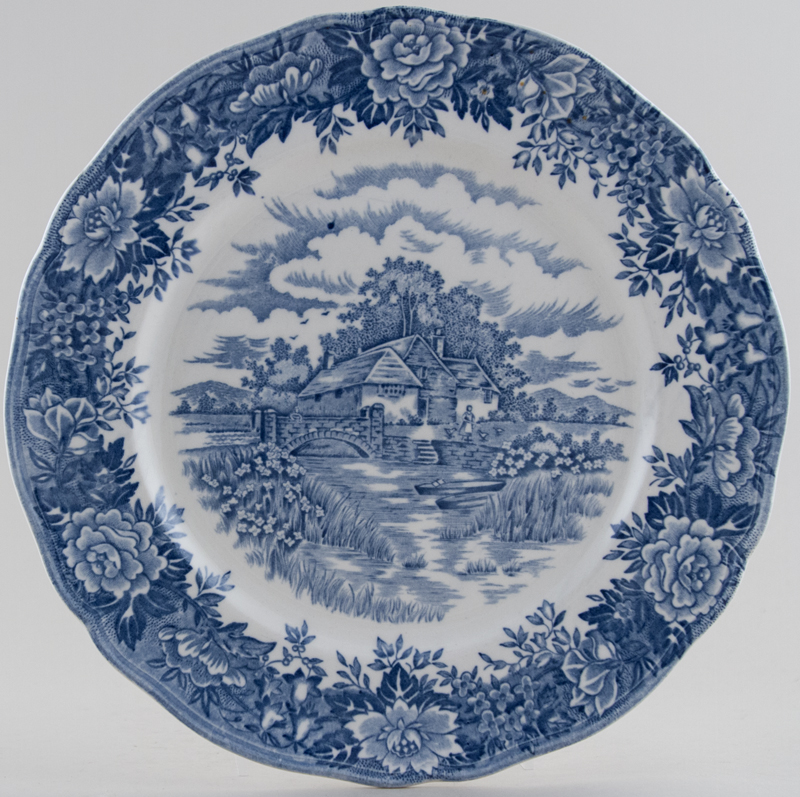 Salem English Village Plate