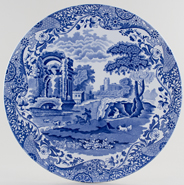 Spode Italian Cake or Serving plate large c1981