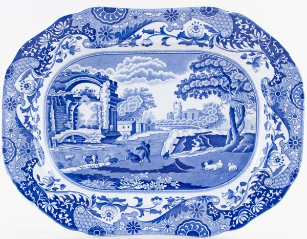 Spode Italian Meat Dish or Platter c1970s and 1990s