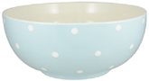 Spode Baking Days blue pale Salad or Serving Bowl