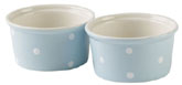 Spode Baking Days blue pale Ramekins Set of Two
