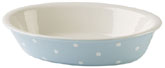 Spode Baking Days blue pale Dish oval with rim