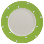Spode Baking Days green Lunch or Salad Plate