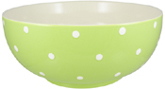 Spode Baking Days green Salad or Serving Bowl