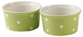 Spode Baking Days green Ramekins Set of Two