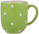 Spode Baking Days green Mug Cafe shape