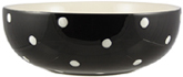 Spode Baking Days black Salad or Serving Bowl