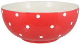 Spode Baking Days red Salad or Serving Bowl