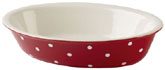 Spode Baking Days red Dish oval with rim