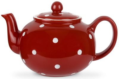 Spode Baking Days red Teapot | Lovers of Blue and White