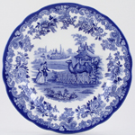 Spode Blue Room Dresser Plate The Camel Enclosure
