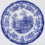 Spode Blue Room Dresser Plate The Rhinoceros House