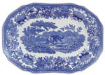 Meat Dish or Platter small Aesops Fables