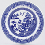 Spode Blue Room Dresser Plate Willow