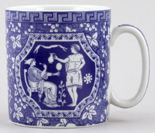 Spode Blue Room Mug Greek