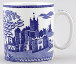 Spode Blue Room Mug Gothic Castle