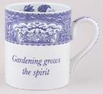 Mug large Gardening Grows the Spirit