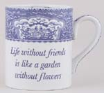 Mug large Life without Friends