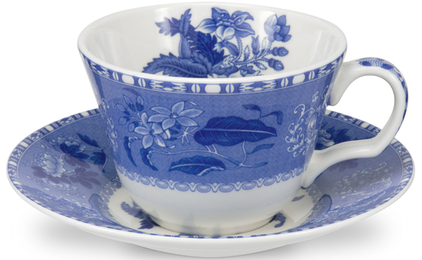Spode Blue Room Cup and Saucer Camilla