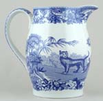 Jug or Pitcher Liverpool Aesop's Fables