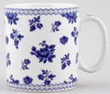 Spode Blue Room Mug Chintz Posy