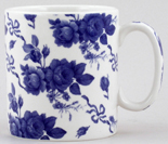 Spode Blue Room Mug Chintz Garland