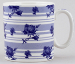 Spode Blue Room Mug Chintz Flower Bud