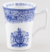 Spode Queen's Birthday Commemorative Mug