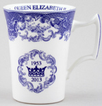 Spode Coronation Anniversary Commemorative Mug