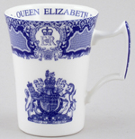 Spode Diamond Jubilee Commemorative Mug