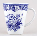 Mug large Blue Rose