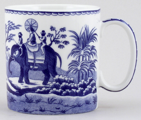 Spode Blue Room Mug Indian Sporting