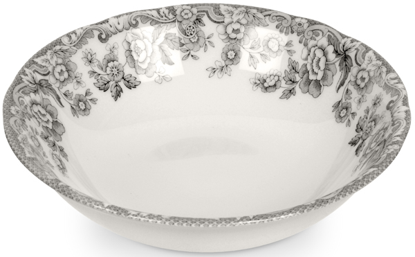 Spode Delamere Rural grey Cereal or Dessert Bowl