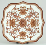 Buffet Plate Square Fancy